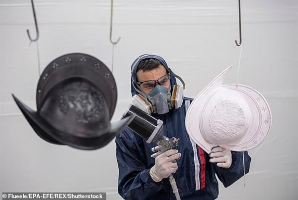 513周年纪念日:梵蒂冈瑞士卫队升级3D打印塑料头盔