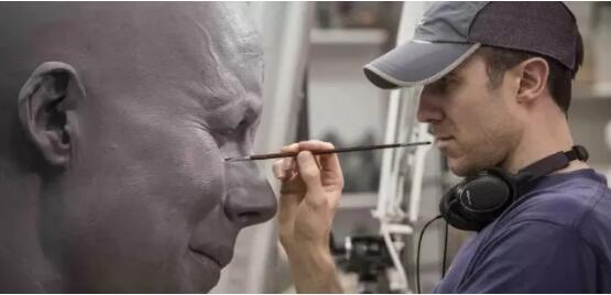 电影特效公司用大幅面3D打印机制作大型电影道具